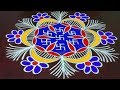 Traditional Rangoli || Deepavali Muggulu || Diwali Deepam Kolam 2018|| Rangoli & Fashion World