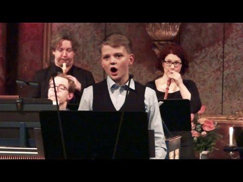Vien con nuova orribil guerra | boy soprano Aksel Rykkvin (13y), Barokkanerne & Mark Bennett