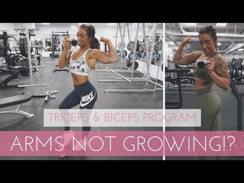 ARMS WORKOUT FOR WOMEN! (Biceps & Triceps Workout)