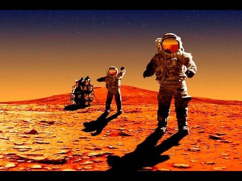 Первый и тайный полет на Марс. Документальный фильм о Марсе. тайна мира