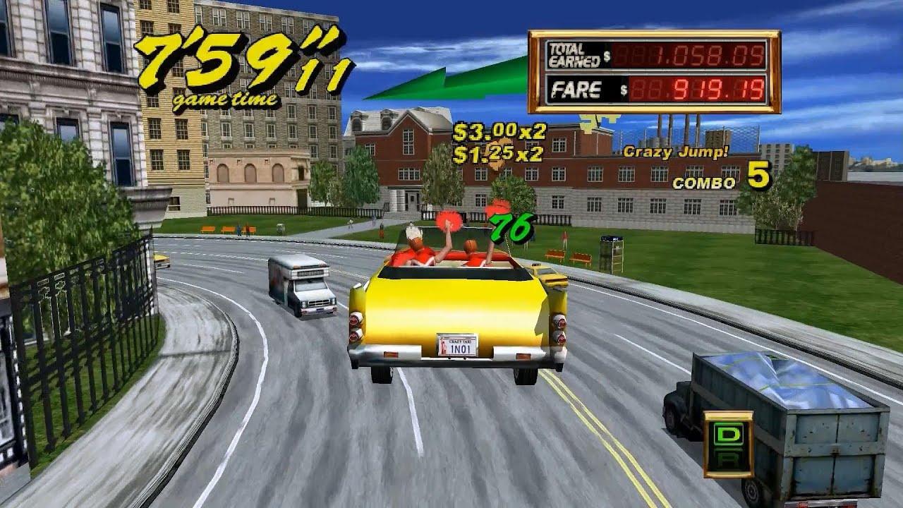 Crazy Taxi Car Game