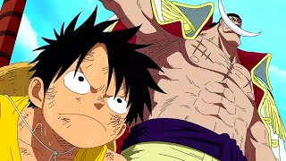 One Piece - Luffy Tells Whitebeard To Shut Up [English Dub] [HD]