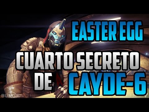 Destiny The Taken King Easter Egg Misterio Cuarto Secreto de Cayde-6