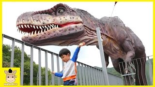 giant life size dinosaur playground fun for kids and family play theme park dino   mariandkids toys