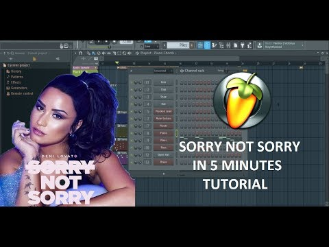 IN 5 MINUTES - SORRY NOT SORRY -  DEMI...