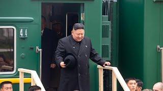 زعيم كوريا الشمالية يصل روسيا على متن قطاره الخاص.. لماذا يفضل السفر بالقطار؟ …