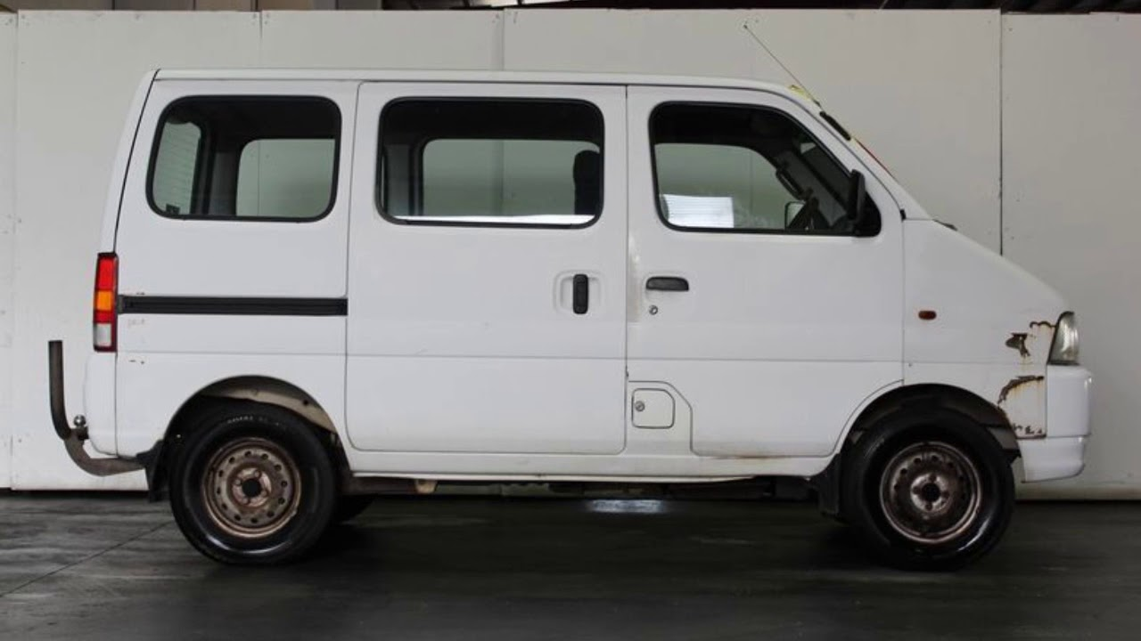 1999 Suzuki Carry White 5 Speed Manual Van