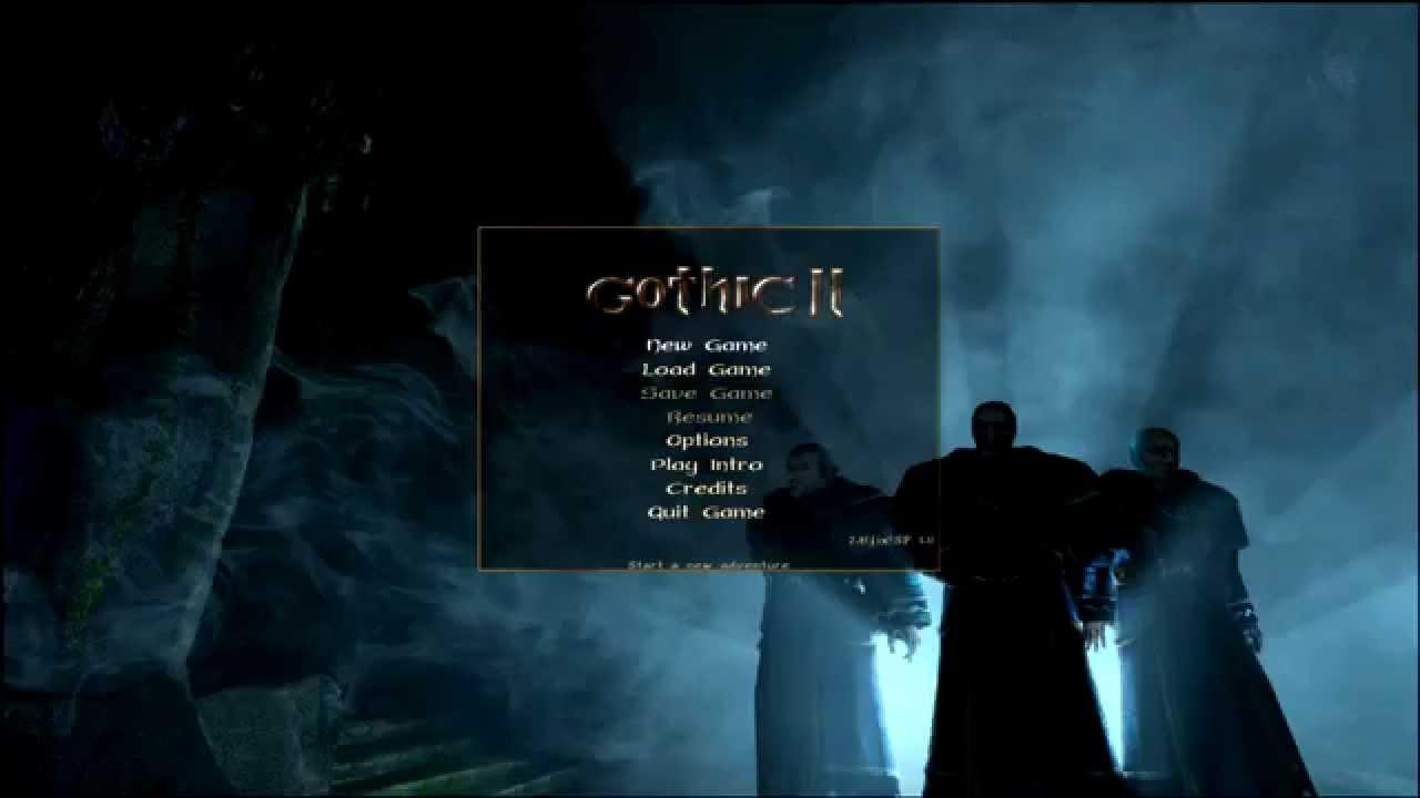 Запуск gothic 2 на windows 8, 8.1, 10. - YouTube  Запуск go...