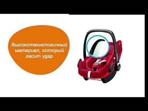 Автокресло Maxi-Cosi Pebble Plus. Обзор Автокресла Макси Кози.