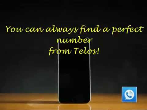 High Quality How To Get A Vanity Phone Number As Your ATu0026T/T Mobile Number From Telos  Free Phone Number App