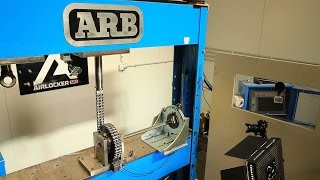 ARB Air Locker Static Torque Failure Test