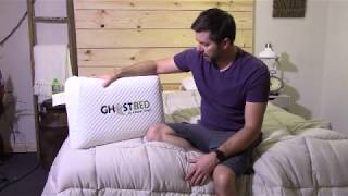 ghostbed pillow review overview youtube