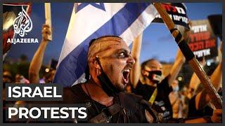 Israel: Many protest PṀ handling of pandemic, economic crisis