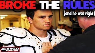 He Broke One of the WORST NCAA Rules & Paid the Price!