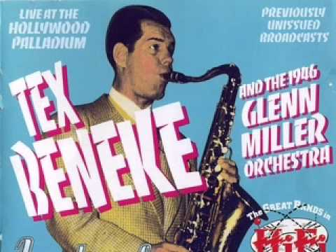 Tex Beneke and the 1946 Glenn Miller Orchestra - Blue skies