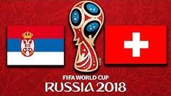 Serbien vs Schweiz | WM 2018 Prognose - Gruppe E