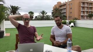 Digital Nomads Having Coffee – Episode 2 – On The Roof In Gran Canaria