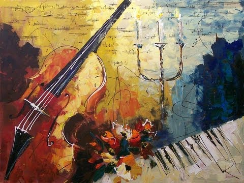 Chamber Music Art by Lena Karpinsky