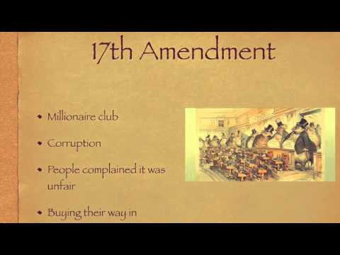 Keller Project 17th Amendment
