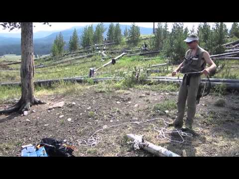 FLY-FISHING - YELLOWSTONE 2012 - Bivouac à Second Meadow