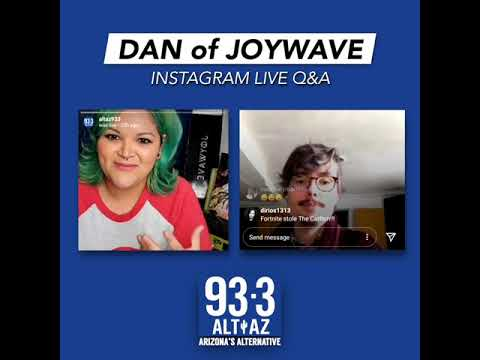 Mo goes LIVE with Dan of Joywave!