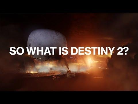 """Destiny 2 – Official """"What is Destiny 2?"""" Trailer"""