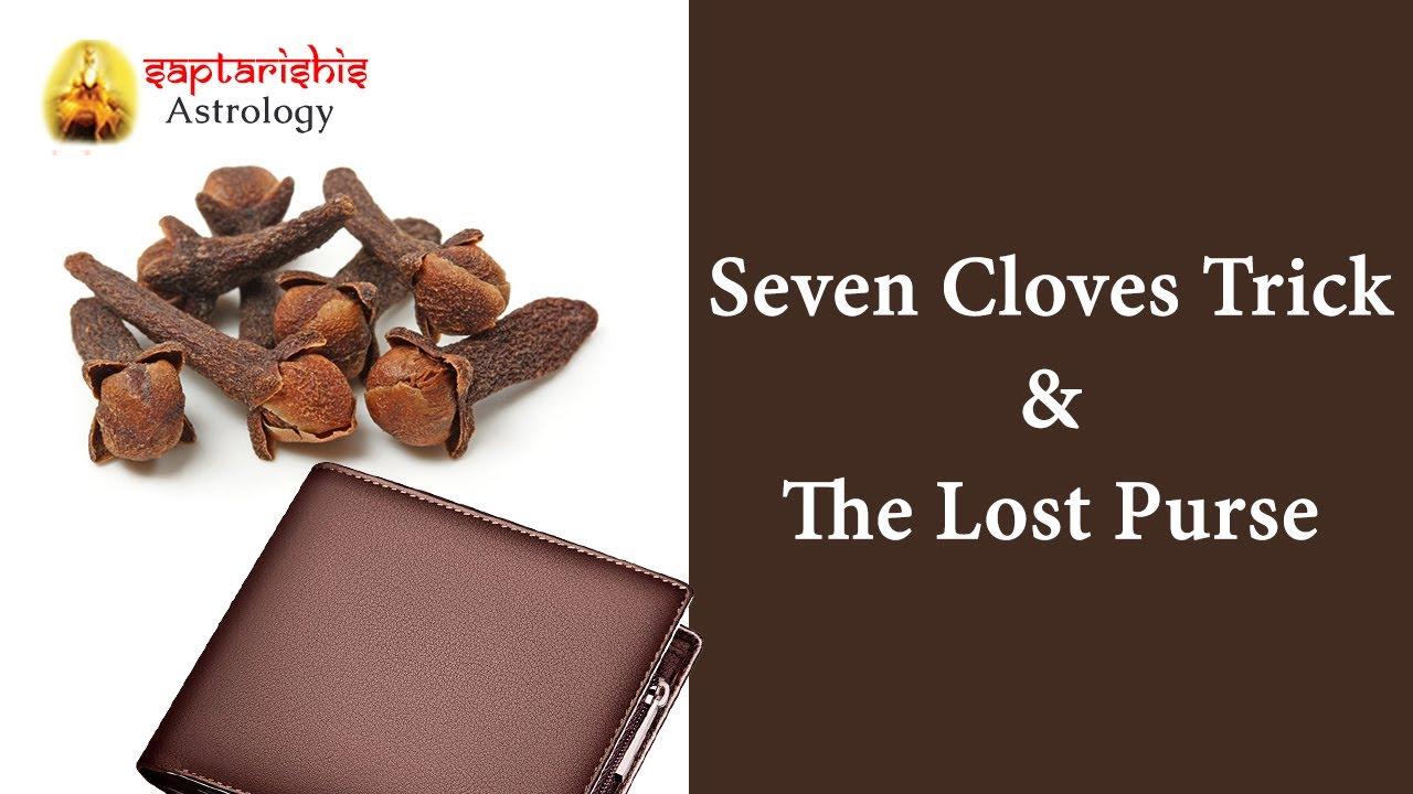 Seven Cloves Trick and the Lost Purse - Valsad Astrologer