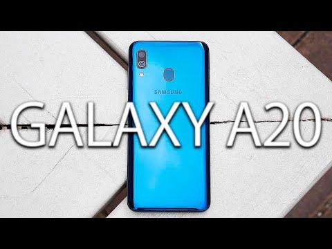 Samsung Galaxy A20 - Обзор