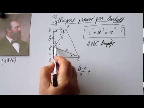 214. 4e-Pythagore prouvé par le président James A. Garfield