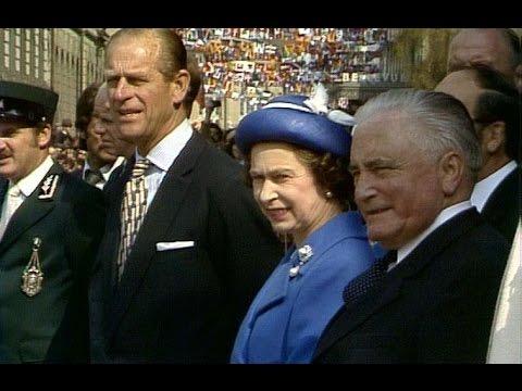 Elisabeth II en Suisse / Queen Elizabeth II in Switzerland (1980)