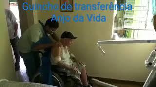 Guincho de transferência de idosos e acamados