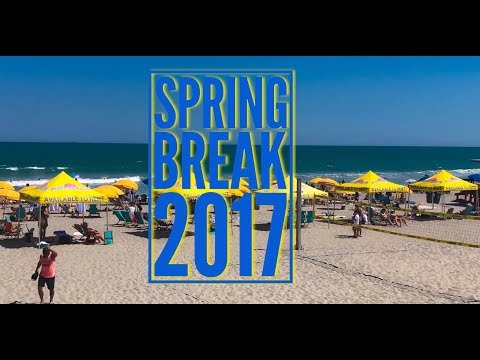 Spring Break Cocoa Beach Florida 2017