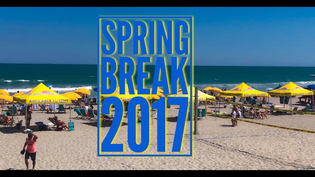 Cocoa beach florida spring break