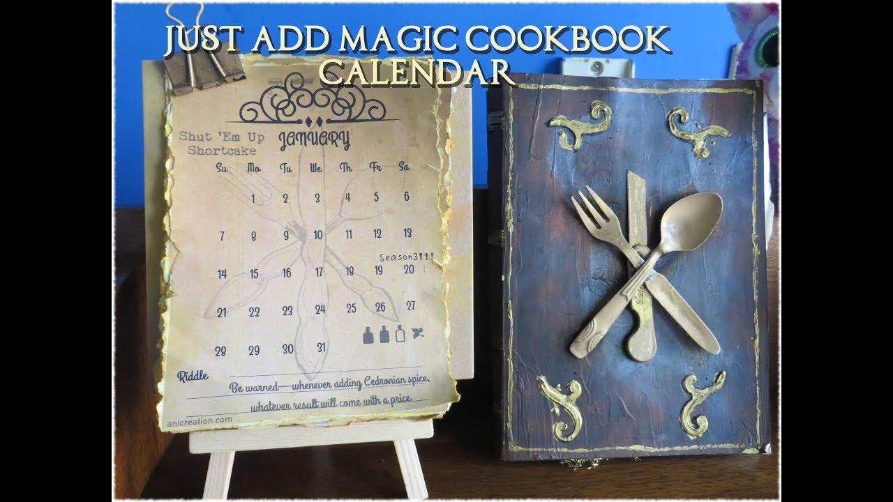 Just add magic cookbook