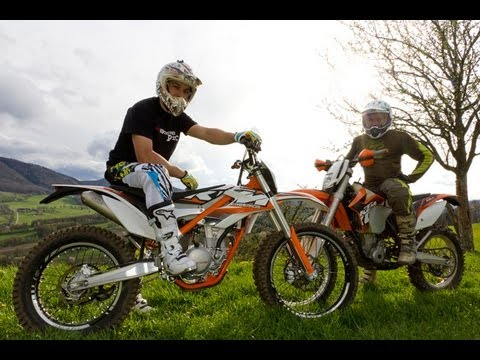 KTM Freeride vs 350 EXC-F - Red Bull Ring