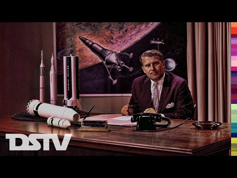 WERNHER VON BRAUN: THE SATURN V ROCKET - SPACE DOCUMENTARY