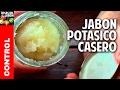 Como hacer Jabón Potásico FACIL en casa - Jabón Insecticida Organico  @cosasdeljardin