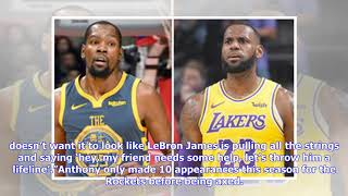 Carmelo Anthony to Lakers could be BLOCKED because of LeBron James - big NBA claim
