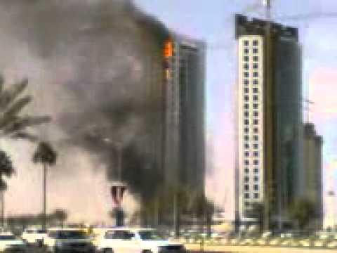 برج يحترق 3gp Youtube