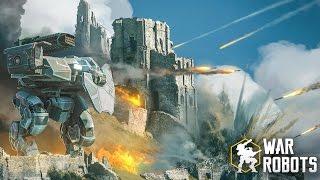 Наконец-то годная игра для Android и iOS! Обзор War Robots - Keddr.com