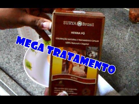 Como preparar a Henna Surya para a aplicação no cabelo - YouTube