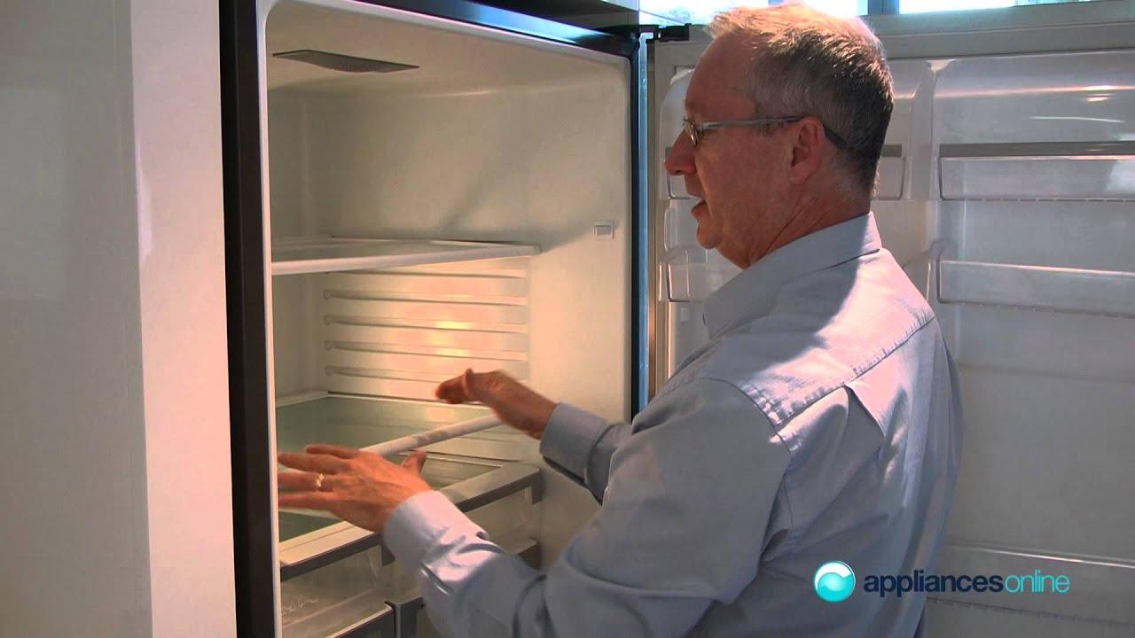 sleek and stylish 510l ebe5107ba ebony fridge appliances online