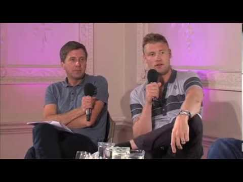 """""""Even the non-smokers smoked"""" Andrew Flintoff on bygone celebrations"""