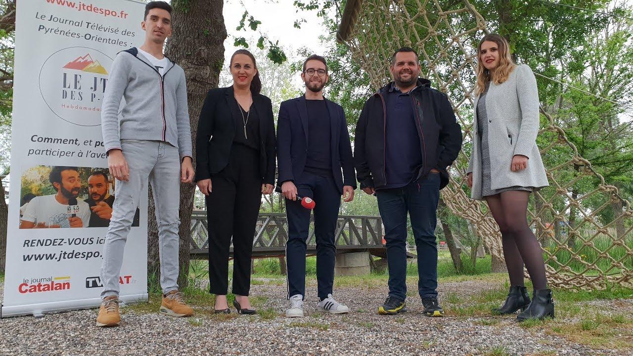 ✅63 JT des PO en DIRECT du parc Argelès Aventure avec Nicolas Perpigna - #TVCAT