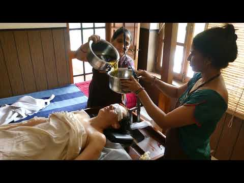 Ayurvedic Treatment - Shirodhara