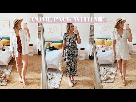 Come Pack With Me + Summer Outfits! // KATE LA VIE