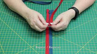 How To: Create a Multi-colour Zipper