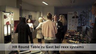 Hr roundtable zu gast bei rexx systems