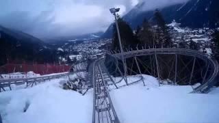 Chamonix mont blanc snowboarding