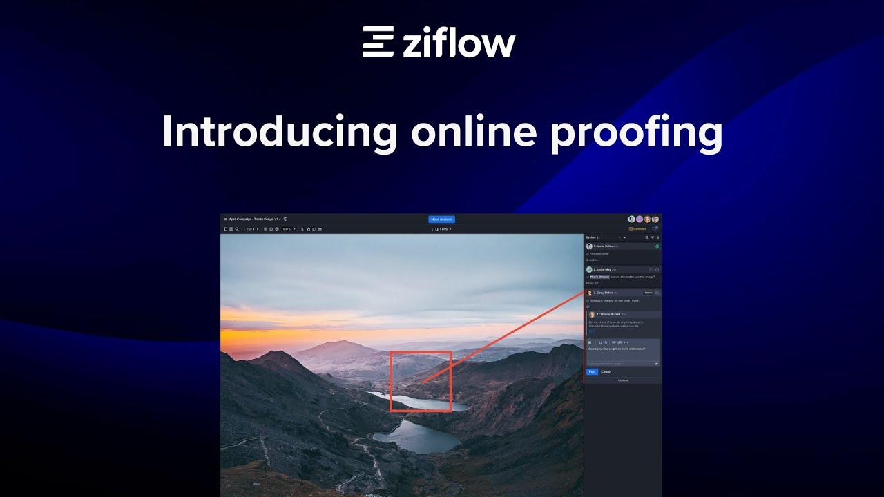 Introducing Ziflow Online Proofing
